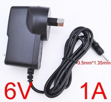 Buy 1PCS 6V1A High AC 100V-240V Converter Switching power adapter DC 6V 1A 1000mA Supply AU Plug DC 3.5mm x 1.35mm for $2.69 in AliExpress store
