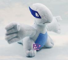 Pop Anime Cartoon Pokemon Figure Lugia Plush Toy Pokemon Soft Doll Lugia Baby Toys