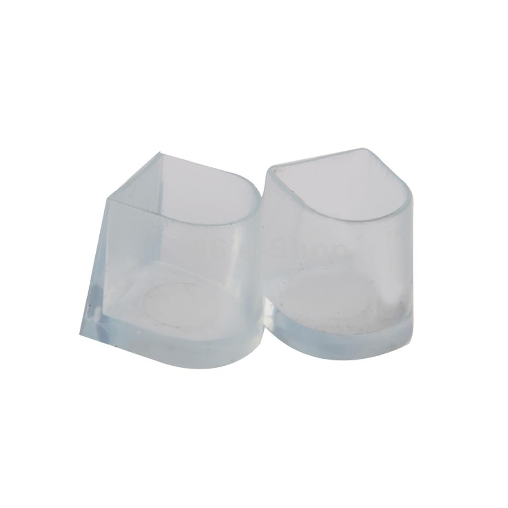 1 Pair Clear Heel Protectors Stoppers Latin Shoes Cover Latin Shoes Hi
