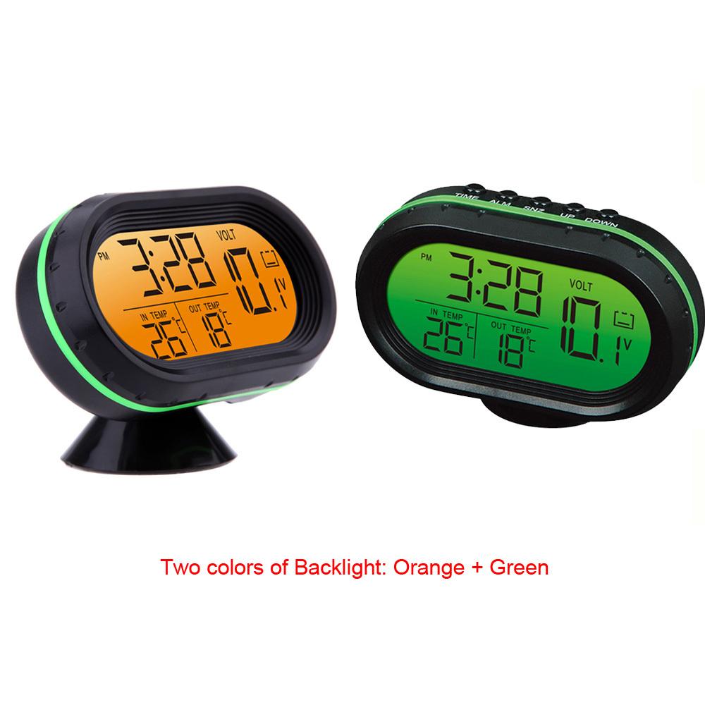Digital Voltage Meter For Car : Digital hour meter car thermometer voltmeter
