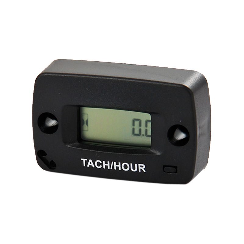 Free Shipping!Digital Motorcycle Tachometer Hour Meter 60000 RPM 2/4 Stroke(China (Mainland))