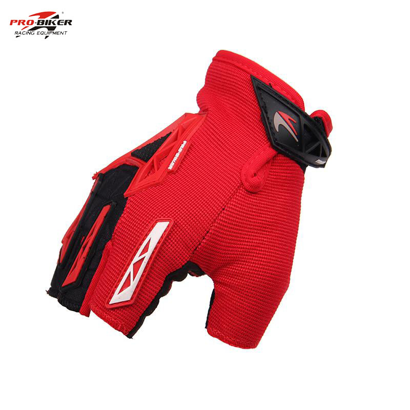 PRO-BIKER Red Full Finger Motorcycle Gloves Cycling Motorbike Motocross MTB Guantes Ciclismo Moto Luvas CE-03 - dansy's store