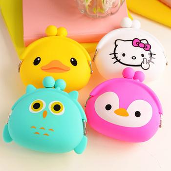 Корейский конфеты цветные девушки монет сумки женские кошельки ключевые милый мультфильм ...