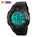 2016 New Fashion Sports Watches for Men Back Light Stop Watch Alarm Military Digital Wristwatches SKMEI