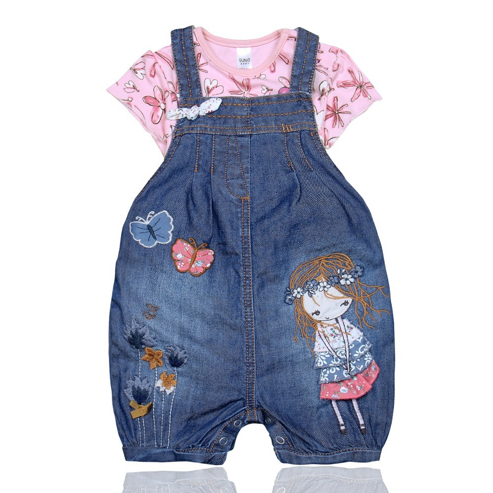 Sun o brand dungarees denim overall jeans with braces for for Jardineira jeans infantil c a