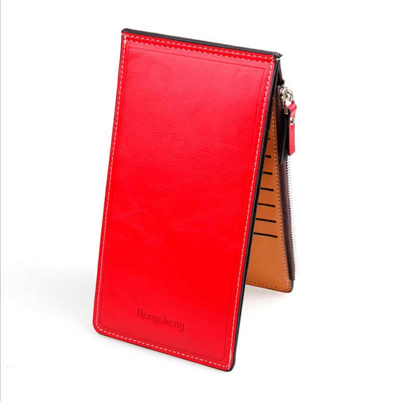 fashion colorful multifunction women wallets Multi-card Position Two Fold Wallet lady Long Zipper Purse Card Holder(China (Mainland))