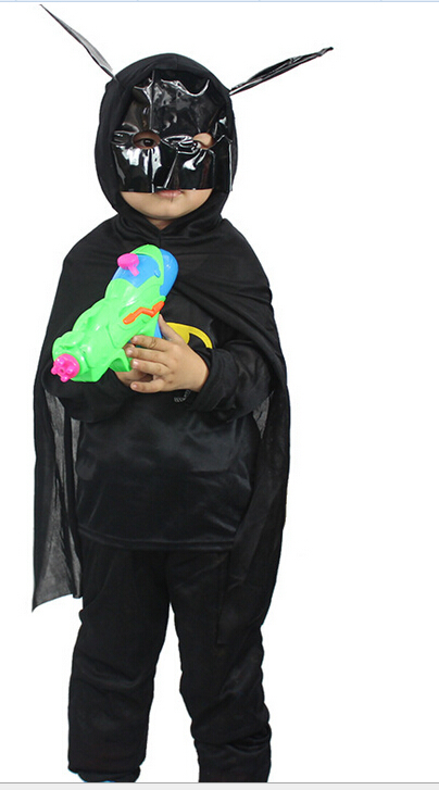 Plush Bat Costume Bat Costume Party Size S-l