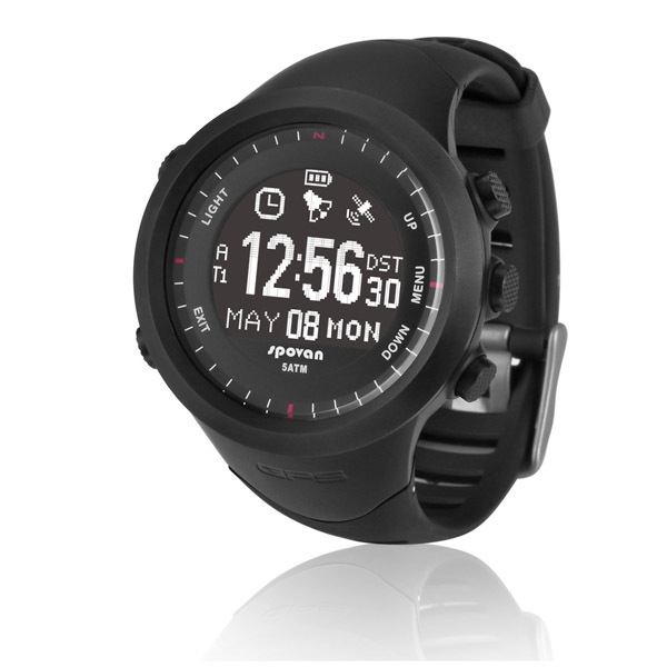 Waterproof Sport Watch Wristwatches 3D Pedometer GPS Navigation Heart Rate Monitor Chest Strap Fitness Wristwatch Men Women(China (Mainland))