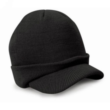 Durable KLV Brand hat for winter Knitted Woolen Esco Peaked Army Beanie Hat Warm Wooly Winter Mens Ladies Cadet Ski Cap Oct26(China (Mainland))