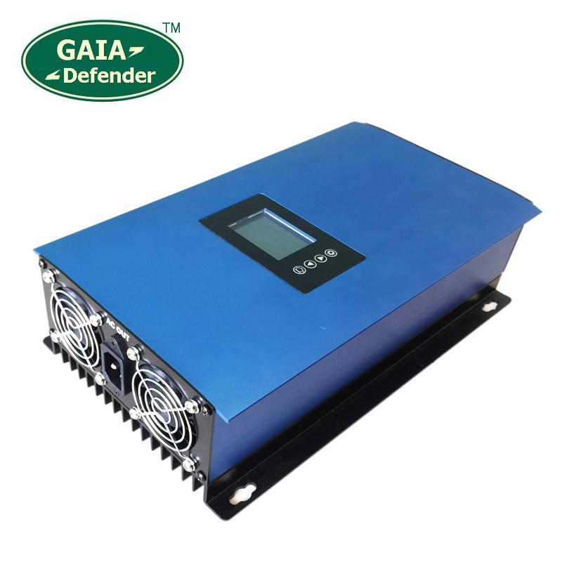 1000W MPPT Solar Power Grid Tie Inverter with Limiter 24V 48V 30V 60V LCD display 110V 120V 220V 230V 240V connected(China (Mainland))