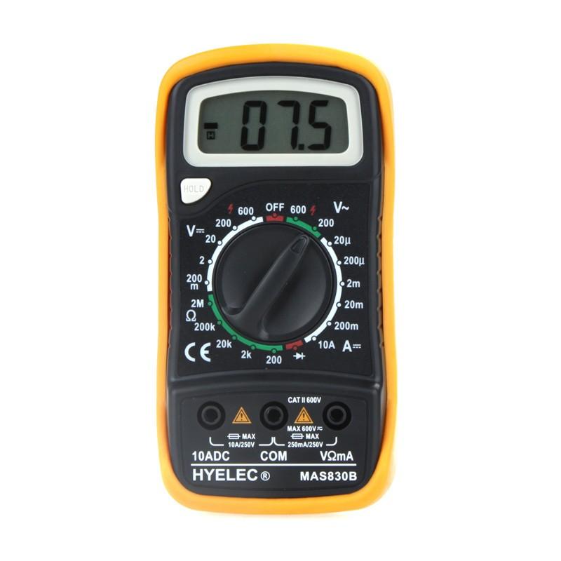 Купить Цифровой Мультиметра MAS830B PEAKMETER multimetros multimetr multitester medidor Ток Сопротивление Амперметр Омметр