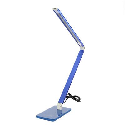 US Stock Eye protection adjustable led desk lamp blue Fashionable green energy-saving lamp stylish elegant chic style(China (Mainland))