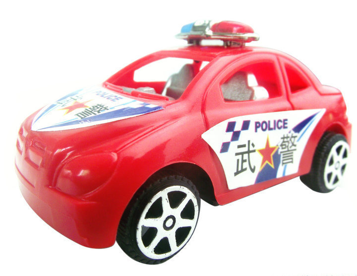 Free shipping all kinds of the police car toys imitate the police car mission back to drive model can give children gifts sold(China (Mainland))