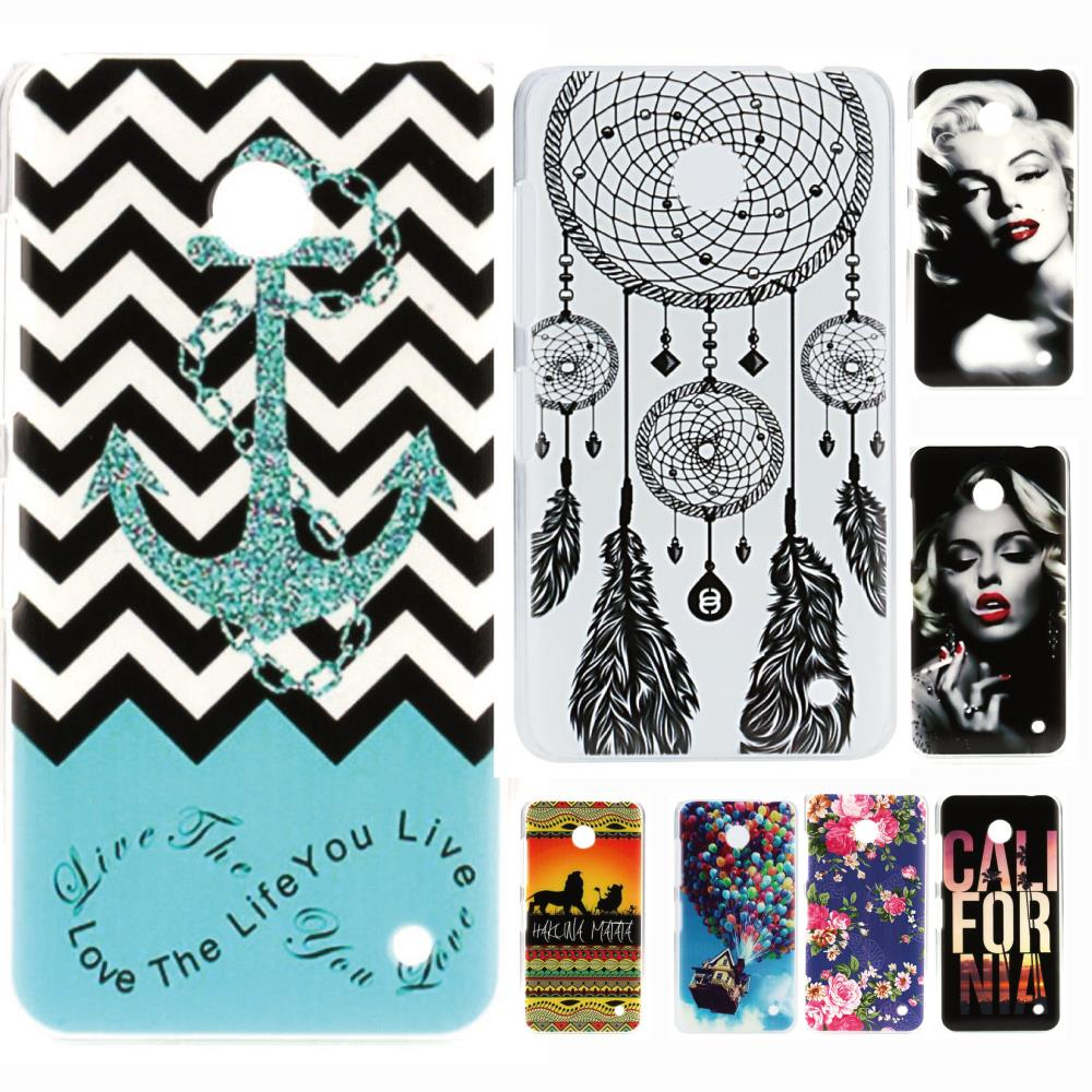 Love The Life You Live Original Beautiful Anchor Plastic Hard Protective Mobile Phone Case Cover For Nokia Lumia 630 635(China (Mainland))