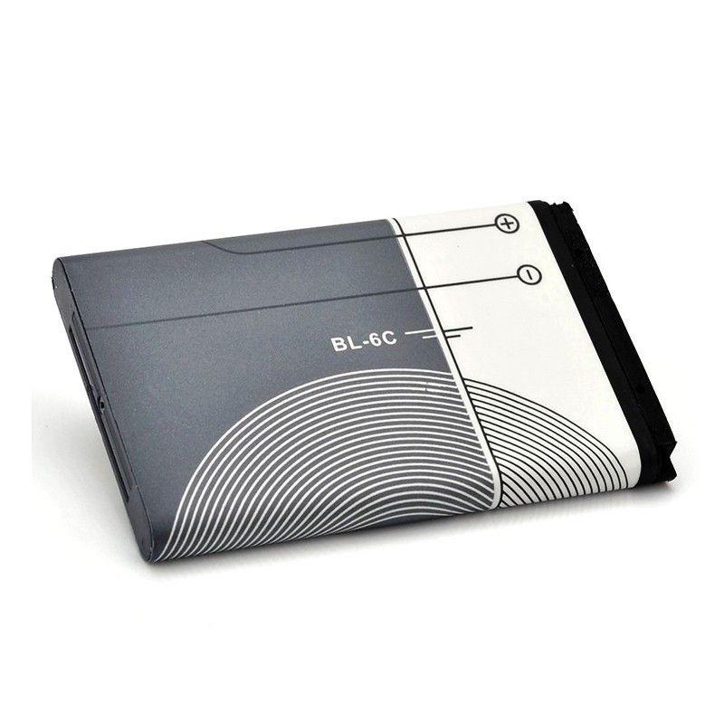 Original BL-6C BL 6C BL6C Phone Battery For Nokia QDA+ 2110 2116 2125 2855 2865 6015i 6016i 6019i 6152 6152 6275 E70 6255(China (Mainland))