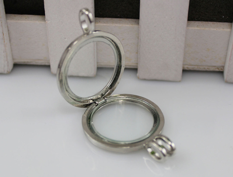 Fillable Glass Lockets