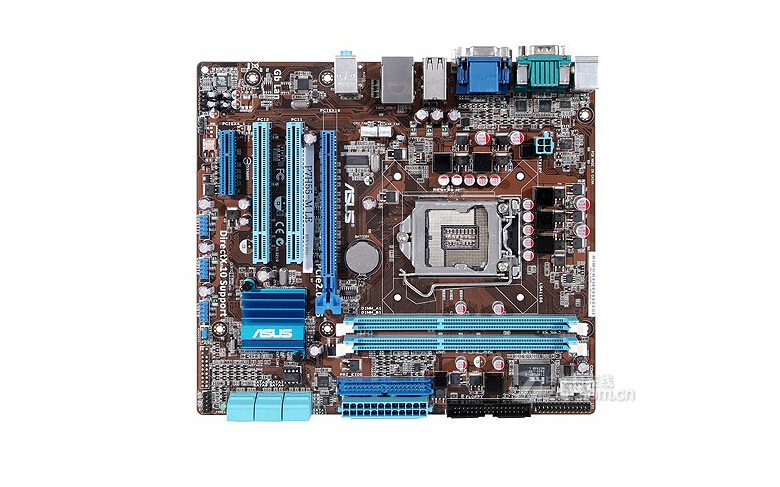 Free shipping 100% original motherboard for Asus P7H55-M LE LGA 1156 DDR3 H55 Desktop motherborad Solid state power supply<br><br>Aliexpress