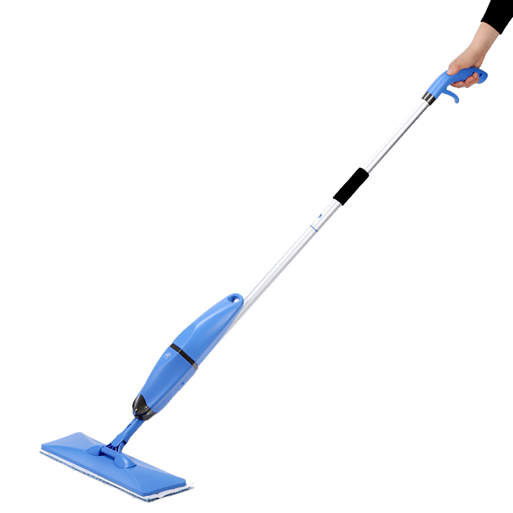 Household 2 in 1 Spray and Scrubbing Mop Microfiber Magic Flat Mop Floor Sweepers One-handed Handheld Swob Rotating Glass Mops(China (Mainland))