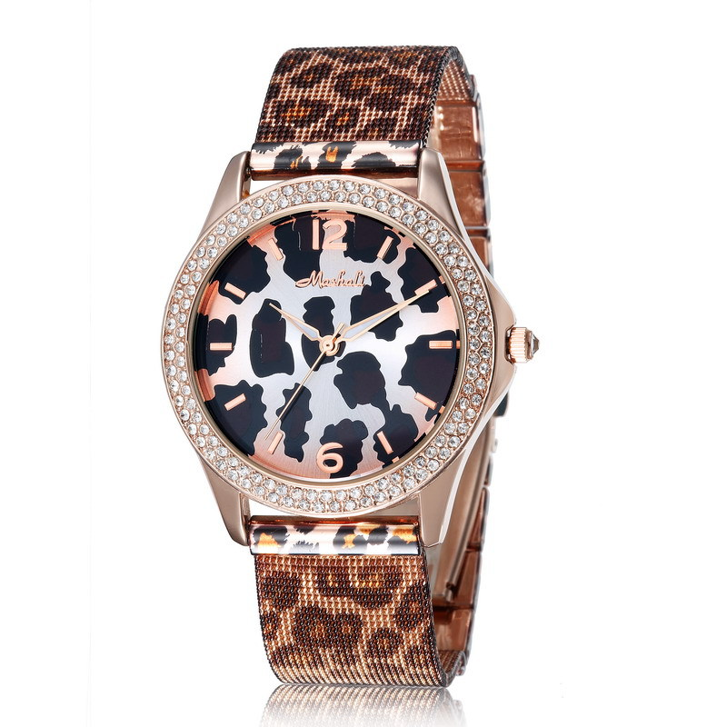 Full stainless steel designer women watches fashion  Leopard dress watches men brand name casual ladies quartz watch <br><br>Aliexpress