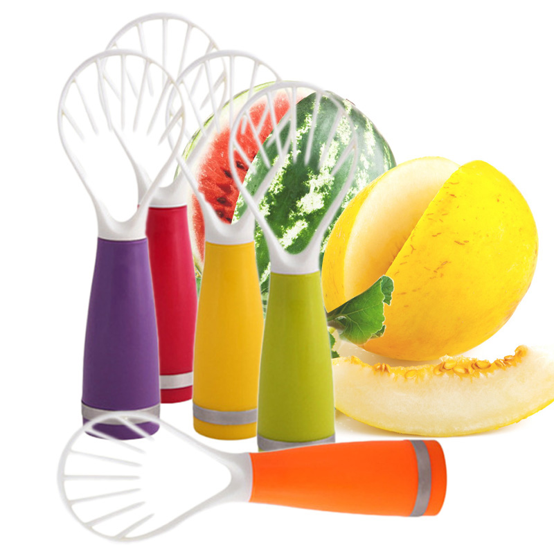 Creative DIY Fruit Scoop Candy Color Plastic Fruit Dig Cooking Tools Fruit Vegetable Tools Kitchen Accessories Gadgets(China (Mainland))