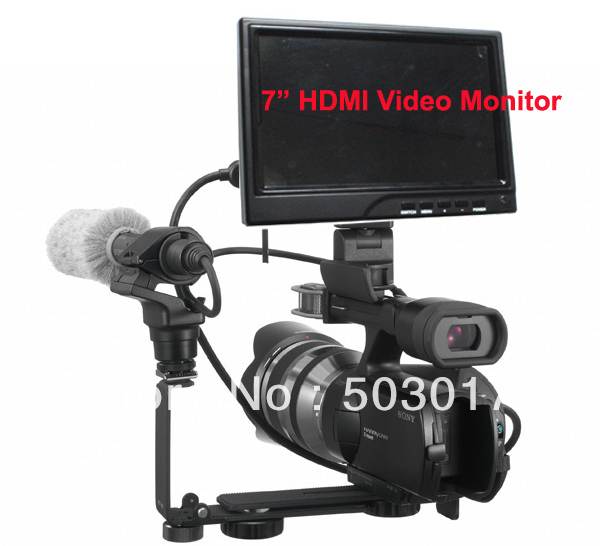 7inch led HDMI video camera monitor IPS screen(Hong Kong)