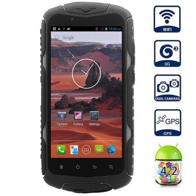 "Original Jeep J6 IP68 Waterproof Mobile Phone 5.0"" HD Screen 1GB RAM 8GB ROM MTK6582 Quad Core WCDMA GSM Dual Sim Android 4.2(China (Mainland))"