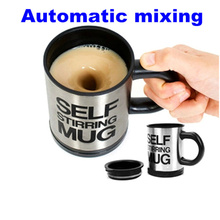 Buy Automatic mixing cup coffee mug Electric stainless steel Self Stirring mug Mixing Drinking tea Cup Lid for $10.05 in AliExpress store