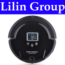 (Russia Warehouse)Robot Vacuum Cleaner,Multifunction(Sweep,Vacuum,Mop,Sterilize),LCD,TouchButton,Schedule,VirtualWall,SelfCharge(China (Mainland))