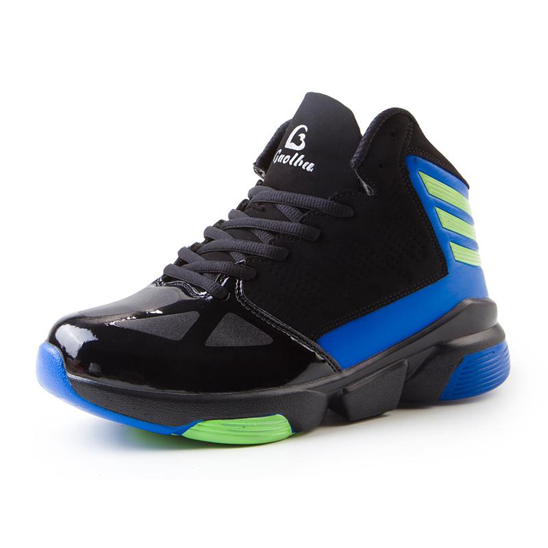 2016 New Trend Basketball Shoes Men High Top Sport ...