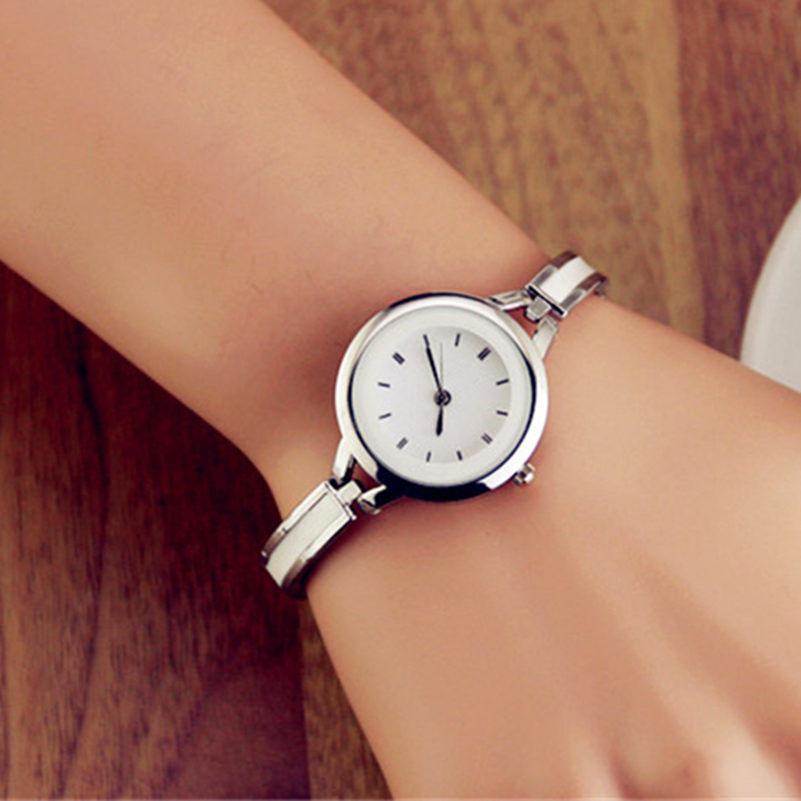 Fashion Quartz Dress Rhinestone Watch Lady Bracelet Dress Wristwatches With Ceramic Fine Steel Strap Women Watches VBD45 P<br><br>Aliexpress