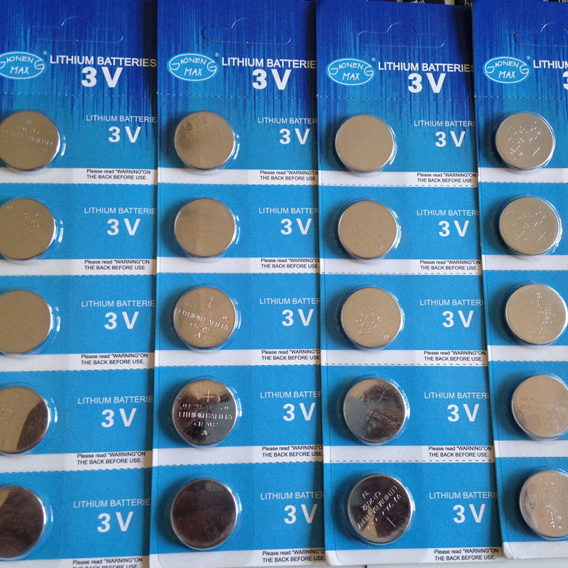 High Quality Brand 20Pack=100Pcs battery CR2032 3V Lithium Batteries BR2032 DL2032 ECR2032 CR 2032 Button Coin Battery(China (Mainland))