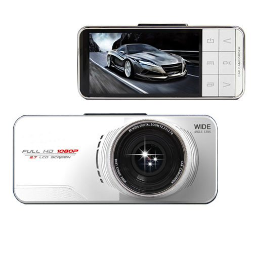 Здесь можно купить  CE Free Ship Car Camera Novatek 96650 WDR Video Recorder 1920x1080 DVR G-sensor Registrator Mini Camcorder External GPS Tracker  Автомобили и Мотоциклы