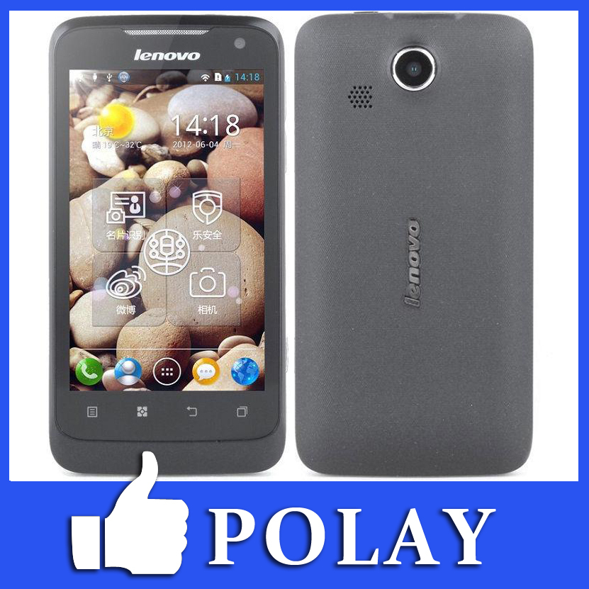 Original lenovo P700 P700i Mobile Phone 4.0inch IPS Screen MTK6577 Dual Core 412MB RAM 4GB ROM Android4.0 WIFI GPS 3G WCDMA(China (Mainland))