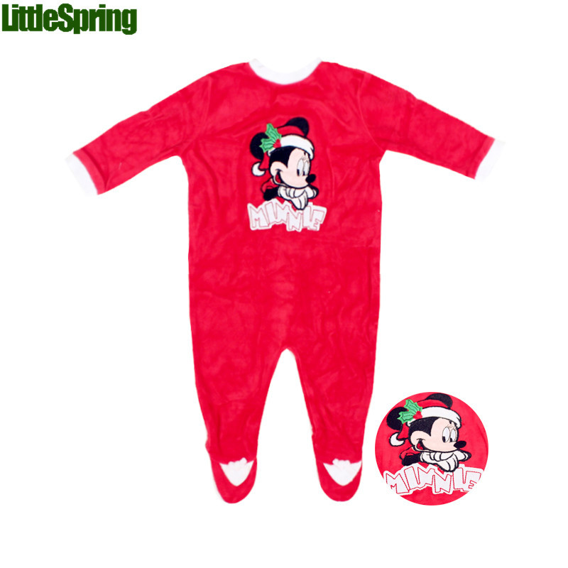2014 Chrismas Baby rompers infant Winter &amp; Autumn jumpsuit cartoon boys and girls foot-binding one piece Little Spring GLZ-L0107<br><br>Aliexpress