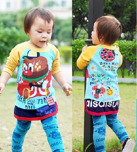 Free shipping_2010 winter long sleeve  New edition fashion JAM-children down garment_7 pcs/set,High Quality,hot sale!