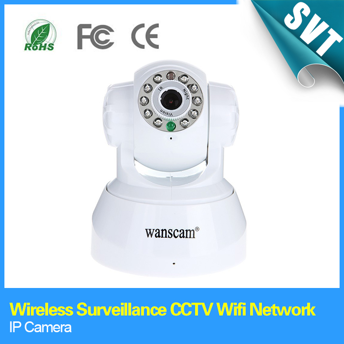 Free shipping Super Appearance Wireless Surveillance CCTV Wifi Network IR Nightvision P/T WiFi IP Camera, Dropshipping wholesale(China (Mainland))