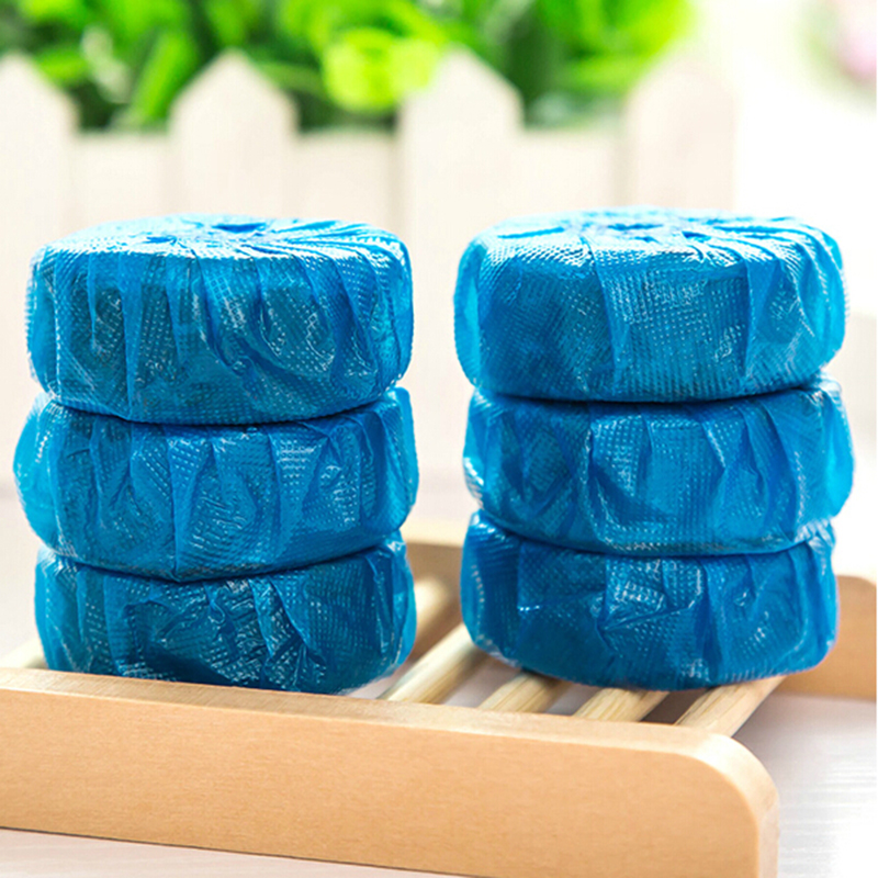 6x Sapphire Deodorant Solid Blue Bubble Toilet Bowl Cleaner/Cleaners New(China (Mainland))