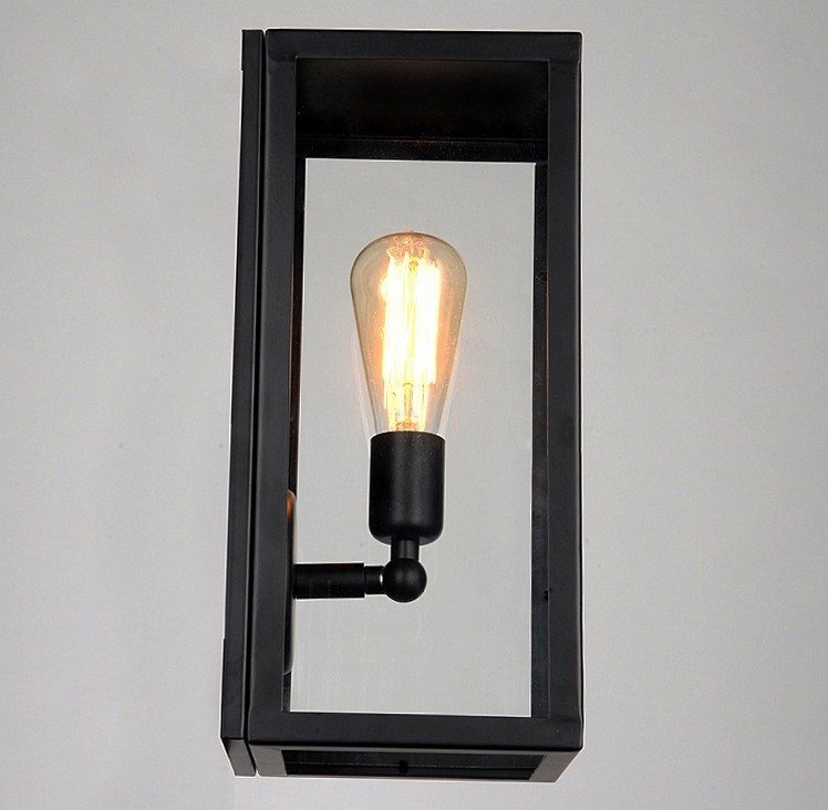 light slim Picture - More Detailed Picture about Wall Sconce Clear Class cover Outdoor Wall ...