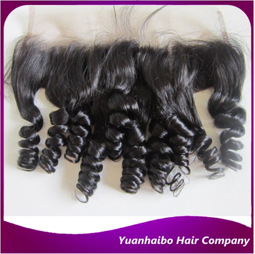 Top quality 1b# 3.5x4 bouncy curl virgin peruvian hair lace frontals remy curly hair front lace frontal free shipping<br><br>Aliexpress
