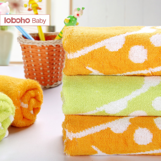 Centenarian cartoon bamboo fibre towel baby children towel soft bamboo fibre children towel