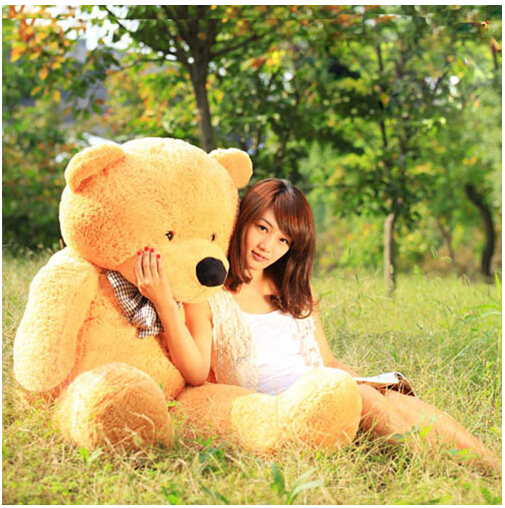 Giant Big Cute Plush Stuffed Teddy Bear Soft Cotton Toys 80cm 100cm 120cm(China (Mainland))