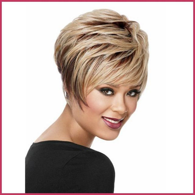 African American Frosted Wigs 50