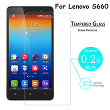 New Explosion Proof Premium Tempered Glass Protective Film Guard Screen Protector for Lenovo S660 S668T