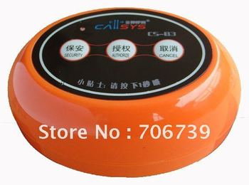 wireless communication device,wireless calling system,colorful call bell with 3 choice, order,bill,cancel