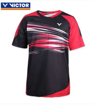 The new 2015 Sudirman Cup badminton competition VICTOR  men T-shirt short sleeve men's clothing T5500