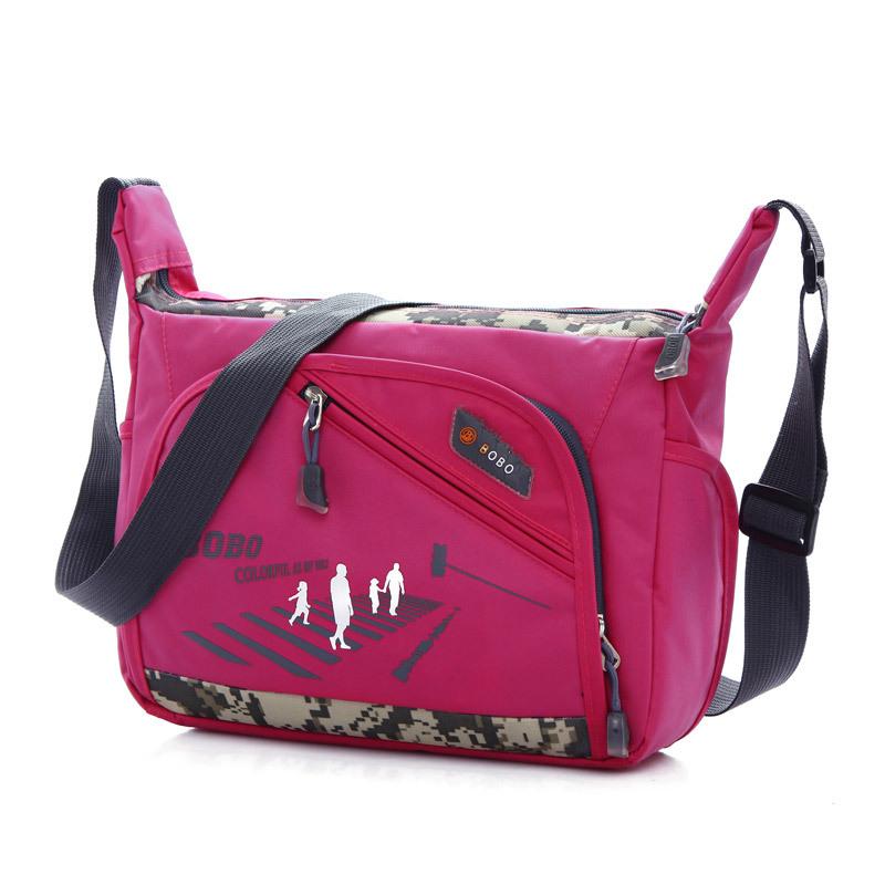Women Messenger Bag Lady Shoulder Bags Travel Hiking Zipper Crossbody Bag Nylon Girls Travel Sport Fashion Handbags High Quality(China (Mainland))