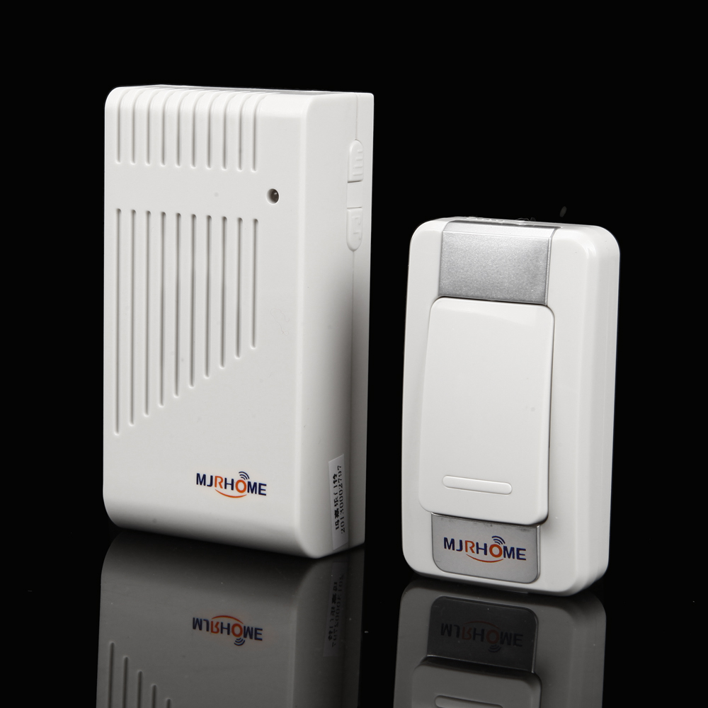 NEW Fashion Wireless door bell 200M Effective IP44 Waterproof standard doorbell Prevent Signal interference 110/220V(China (Mainland))