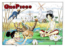 Free shipping One piece Manga Strong world font b japan b font font b anime b