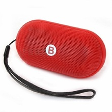 Powerful Portable Wireless Bluetooth Speaker Outdoor Sport MP3 Player Caixa De Som with FM Radio Built in Mic For Mobile Phone(China (Mainland))