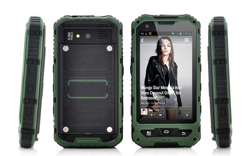 a8 cheap mobile phone waterproof dustproof shockproof phone IP67 android mobile phone outdoor cellulares g shock original(China (Mainland))